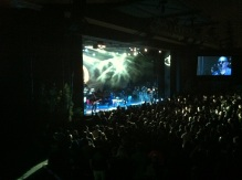A Perfect Circle takes the stage. Photo by Corey Kleinsasser