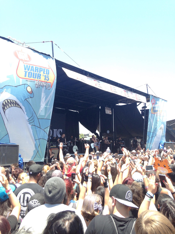 Warped Tour 2015: Pomona review   Concert Crap